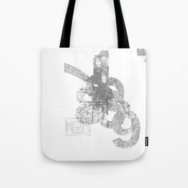 map: '794-1869 Tote Bag