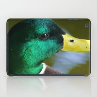 duck iPad Cases featuring Duck by jamester42