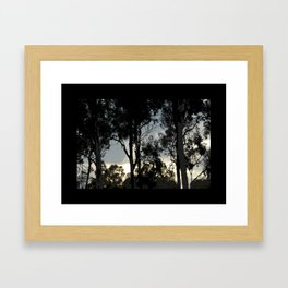 Passeo Al Mar Framed Art Print