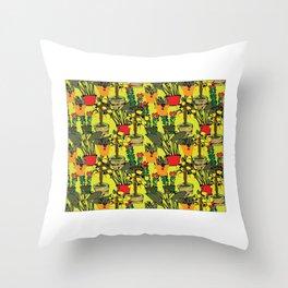 Bohogarden2021 Throw Pillow