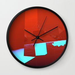 Underneath Wall Clock