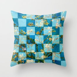 Amandelbloesem Throw Pillow
