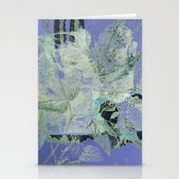 transparent Stationery Cards featuring transparent flowers by clemm