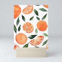 Summer oranges Mini Art Print