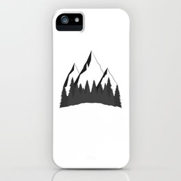 Mountain Forest iPhone Case