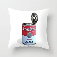 Open a can of... Throw Pillow