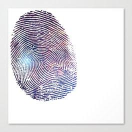 COSMIC TRACE Canvas Print