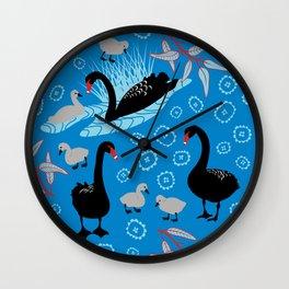 Black Swan garden Wall Clock