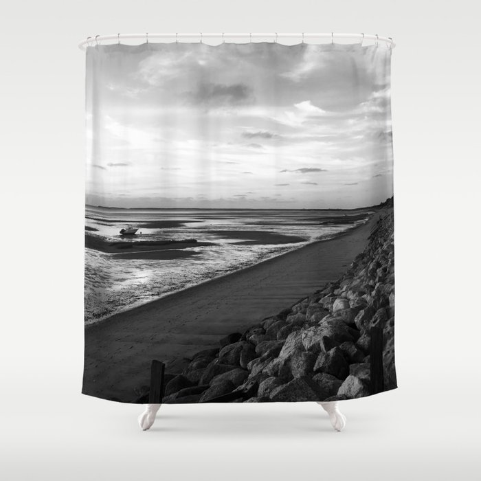 Cool Day In Cape Cod Shower Curtain