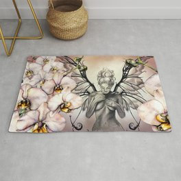 orchids Rug