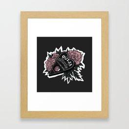 Ouija Planchette Framed Art Print