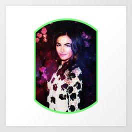 Space Garden Camilla Art Print