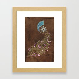 Cercis siliquastrum Framed Art Print