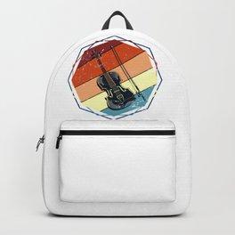 Retro Violin Instrument Backpack