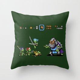 Kowabunga! Throw Pillow
