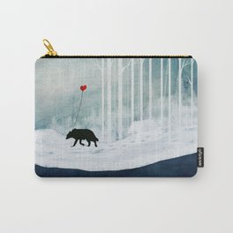 WOLF - A Love Always Carried  Carry-All Pouch
