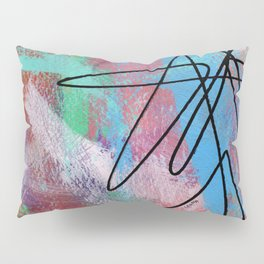 Abstract Modern - Where Is Your Passion? no.5 Pillow Sham