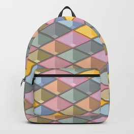 3D iso graphic Backpack