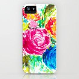 Emma's Garden iPhone Case