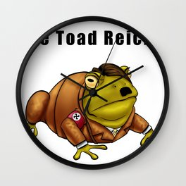 The Toad Reich Wall Clock