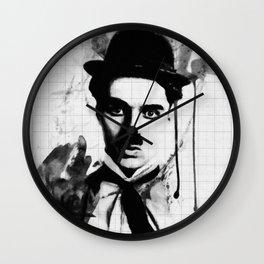 charlie chaplin 03 Wall Clock