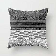 Table for Two Throw Pillow