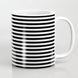 Stripe Black And White Vertical Line Bold Minimalism Stripes Lines Coffee Mug
