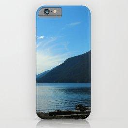 Lake Crescent Shore iPhone Case