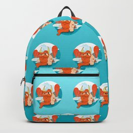 Graggy the Bearded - Happy Chaos Monsters Backpack