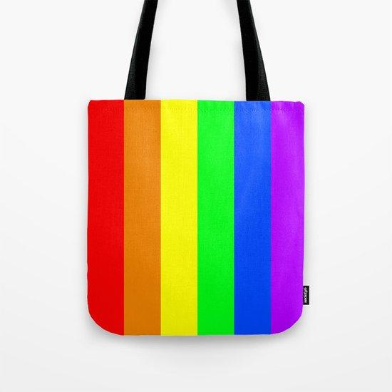 Rainbow Flag - High Quality image Tote Bag