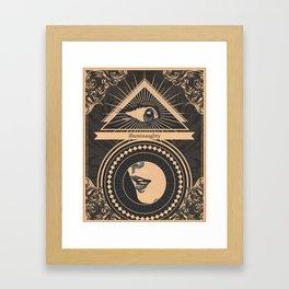 Illuminaughty Framed Art Print