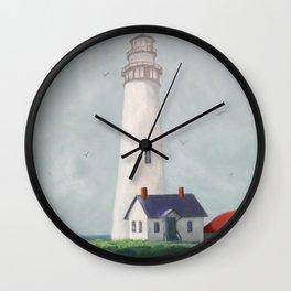California Lighthouse Wall Clock