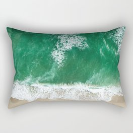 miami beach  Rectangular Pillow