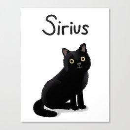 "Custom Artwork, ""Sirius"" Canvas Print"