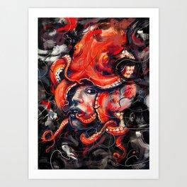 Empress Octo Art Print