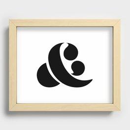 Ampersand Recessed Framed Print