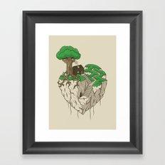 Lonely heart Framed Art Print