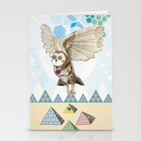 journey Stationery Cards featuring Journey by Jo Cheung Illustration