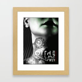 The Last Writer Framed Art Print