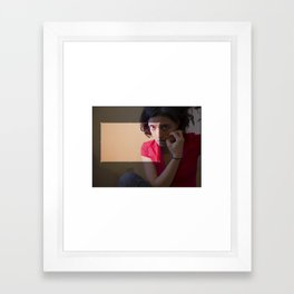 cropped. Framed Art Print