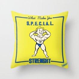 Strength S.P.E.C.I.A.L. Fallout 4 Throw Pillow