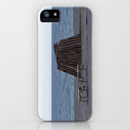 Bonfire Beach iPhone Case