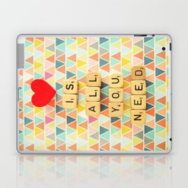 Love is All You Need Laptop & iPad Skin