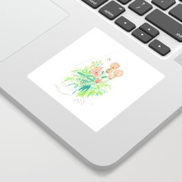 Flower flower Sticker