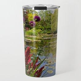 Summer Water Garden Travel Mug