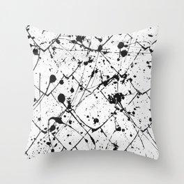 Nikita - white Throw Pillow