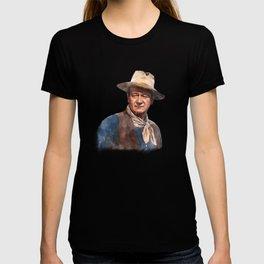 John Wayne - The Duke - Watercolor T-shirt