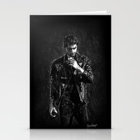 cyrilliart Stationery Cards featuring Wet Zayn by Cyrilliart
