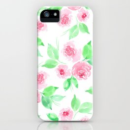 BLOOMING ROSE iPhone Case