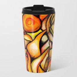 Flower- Reflect  Metal Travel Mug